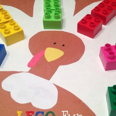 Lego Turkey Busy Bag of the Month