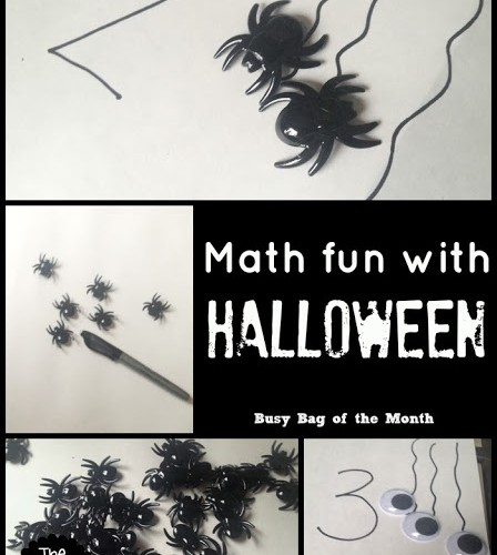 Math fun with Halloween from The Educators' Spin On It