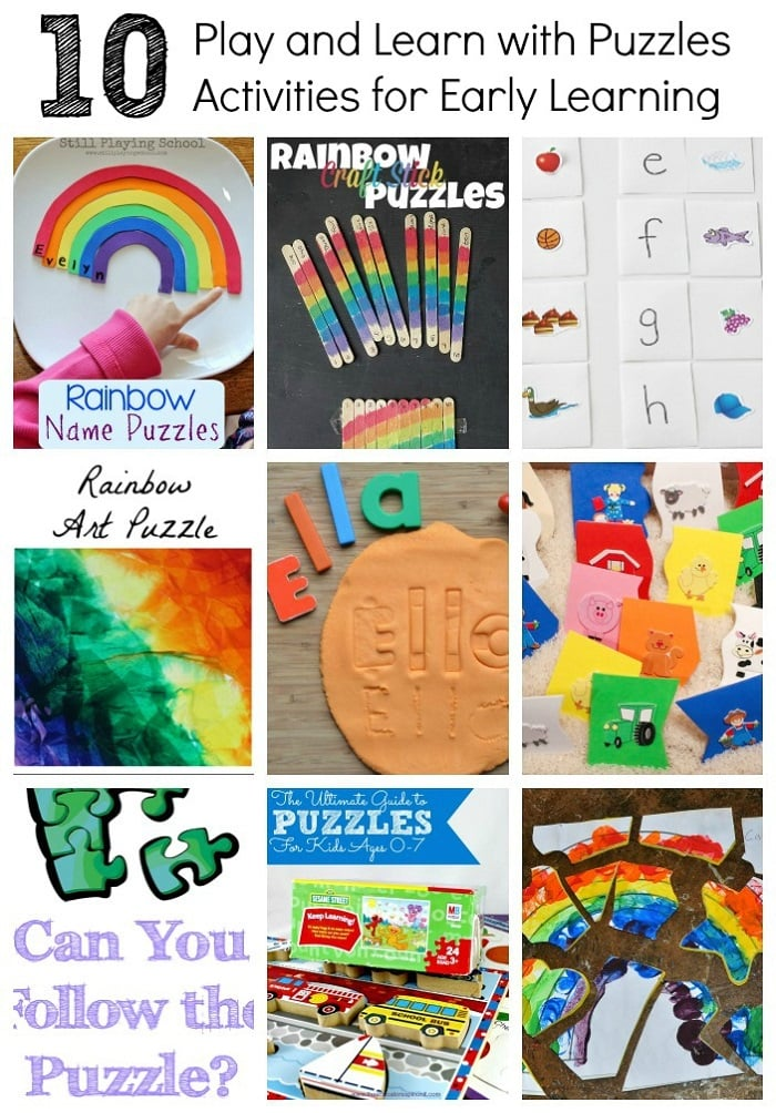 Puzzle Learning Activities