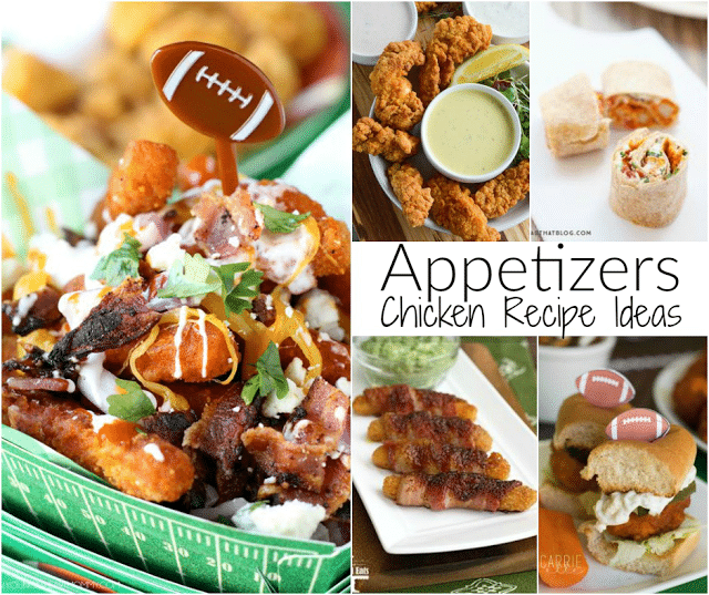 Chicken Recipes for Gametime Appetizers