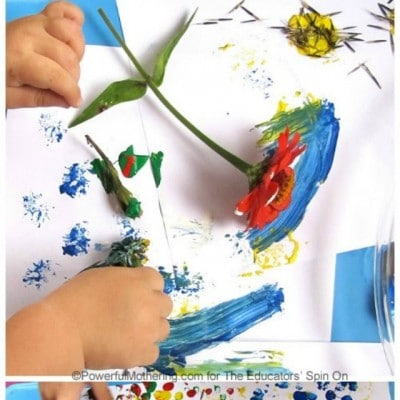 Garden Art; Flowers