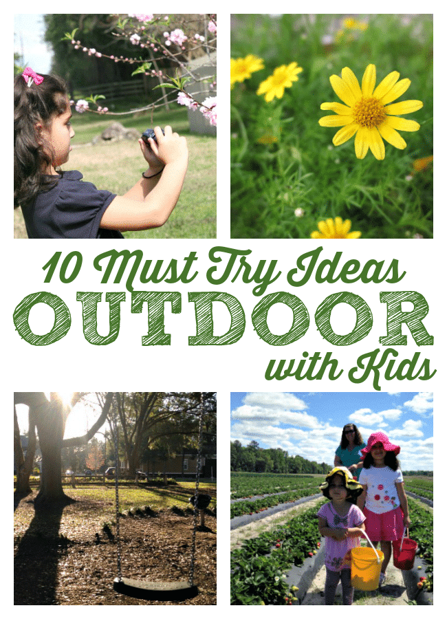 10 Spring Outdoor Activities for Kids this Spring