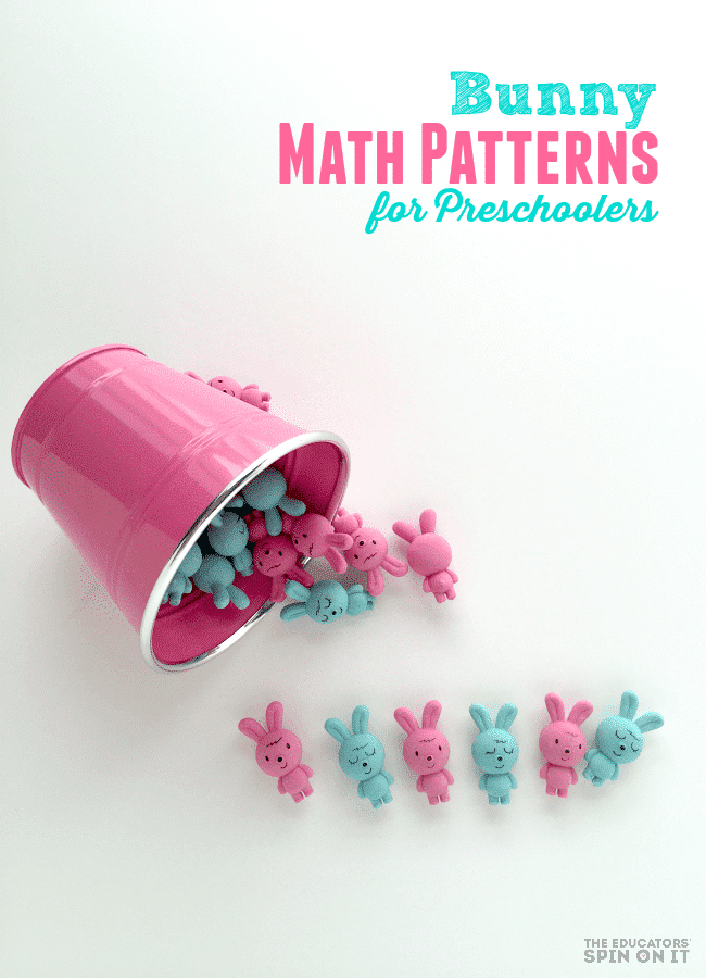 Bunny Math Patterns for Preschoolers
