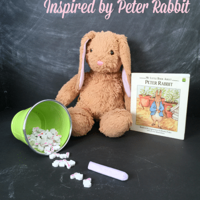 Name Tracing Rabbit Fun Inspired by Beatrix Potter