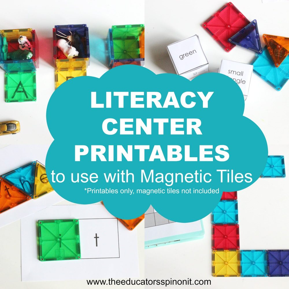 Using Magnatiles to Learn to Read