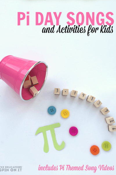 Pi themed songs for Kids for math