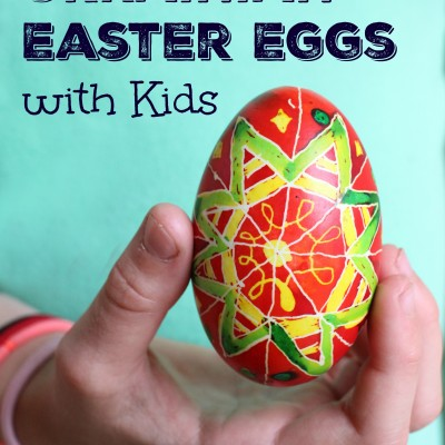 Decorating Ukrainian Easter Eggs with Kids