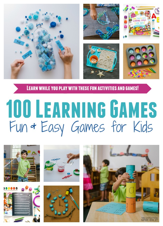 100 Learning Games for Kids