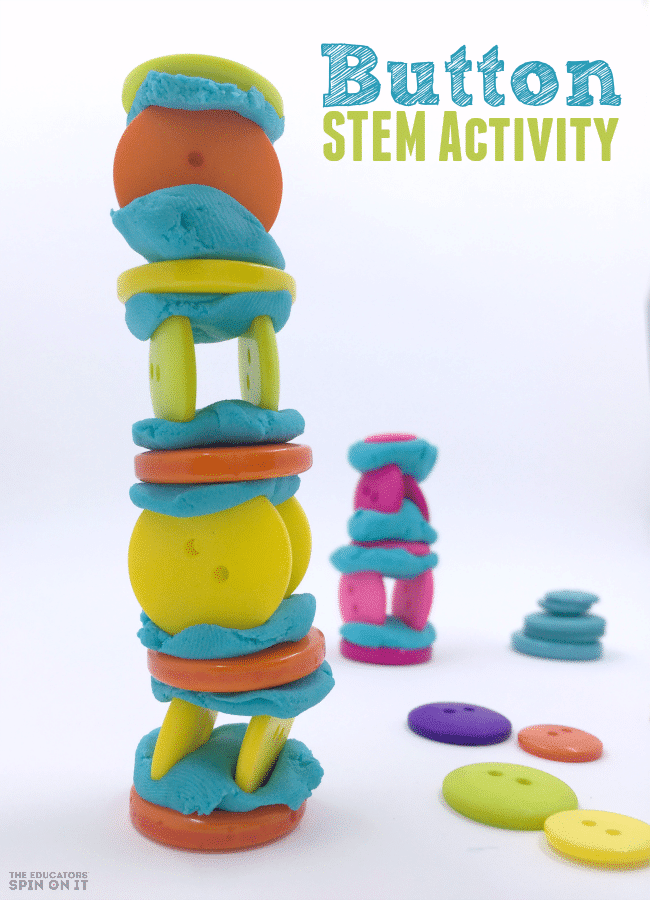 Button STEM Activity Challenge for Kids