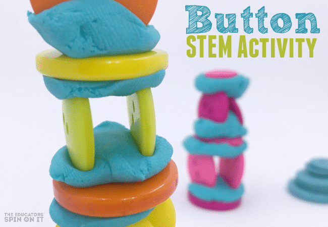 Button STEM Activity for Kids for a FUN Thinking Challenge