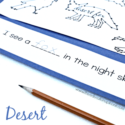 Desert Animal Writing Prompt
