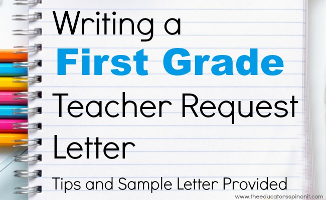 first grade how to writing
