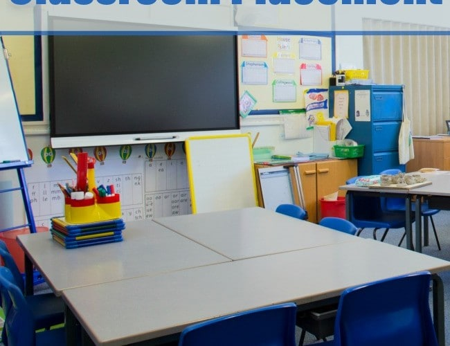 Requesting a Change in Your Child's Classroom Placement