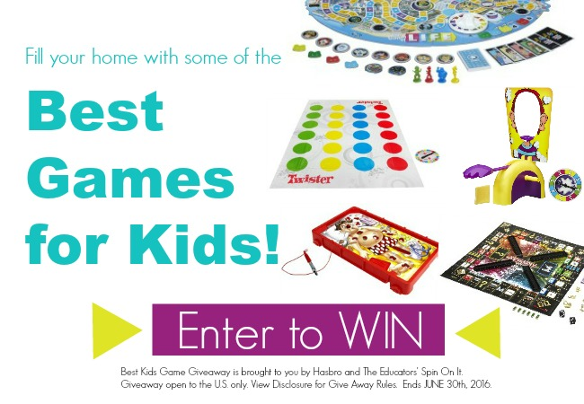 Best Kids Games Give Away - Enter to Win 5 kids games