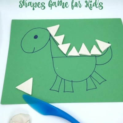 Dinosaur Shapes Game for Kids