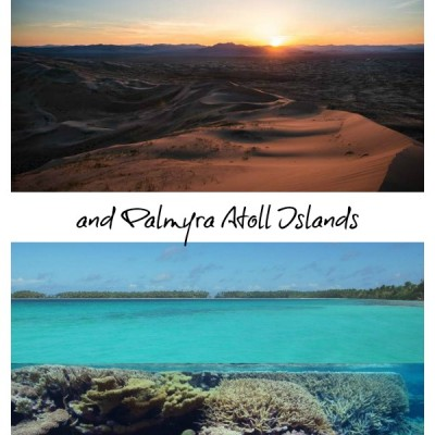 Virtual Field Trip to Mojave Desert and Palmyra Atoll
