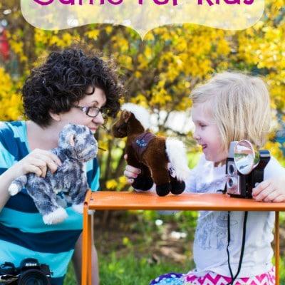 Fun Photo Game For Kids!