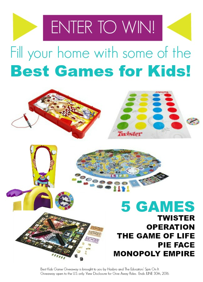 Fill Your Game Closet With Some Of The Best Games For Kids