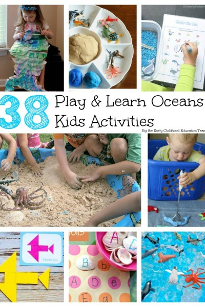 Play and Learn Oceans: 38 Activities for Kids