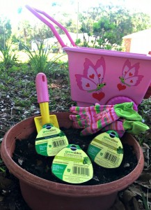Planting a Vegetable Garden with Kids