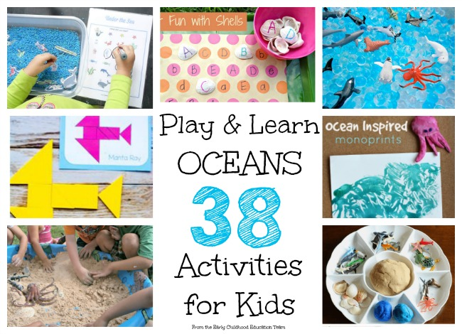 Play and Learn Oceans, 38 Activities for Kids