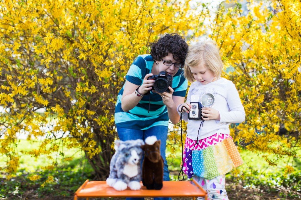 Photo Game for Kids using household items