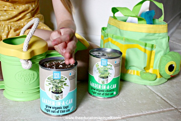 Garden in a Can Science Experiment