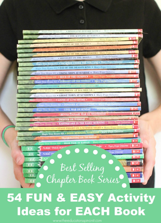Magic Tree House Chapter Book Series and Activity List