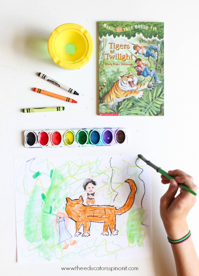 Don't miss this list of activity ideas for kids to go along with the Magic Tree House Chapter Book Series