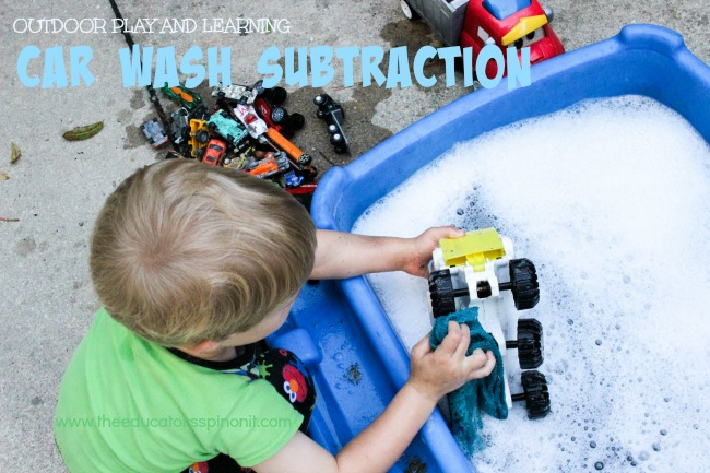 Car Wash Subtraction - spashing fun way to learn math