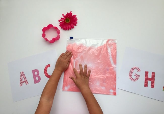 Alphabet Game inspired by Pinkalicious