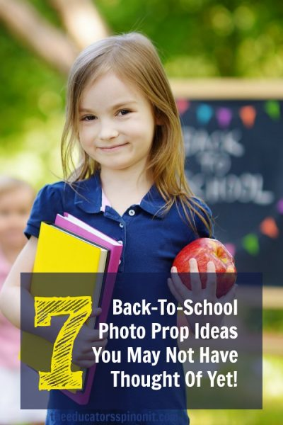 Back To School Photo Prop Ideas
