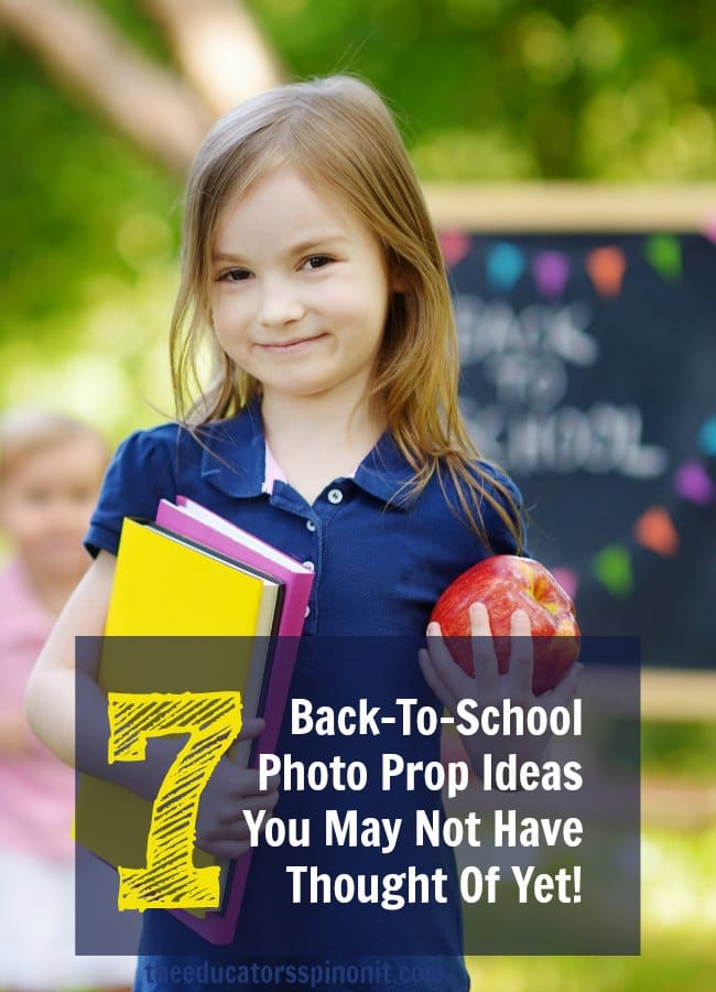 Back to School Photo Prop Ideas that you may not have thought of yet!