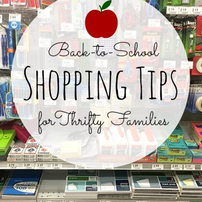Make the most of Back to School Shopping