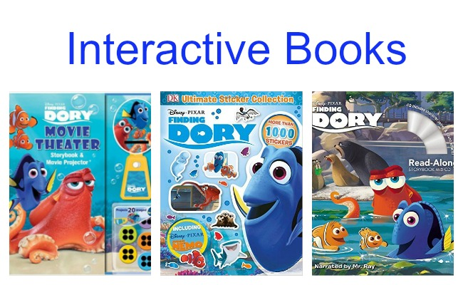 Interactive Finding Dory Books