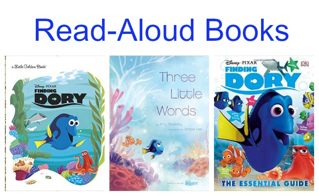 Read Aloud Finding Dory Books for Kids