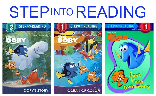 Step Into Reading Finding Dory Books for Kids