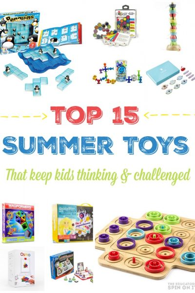Top 15 Toys to Keep Your Kids Thinking this Summer