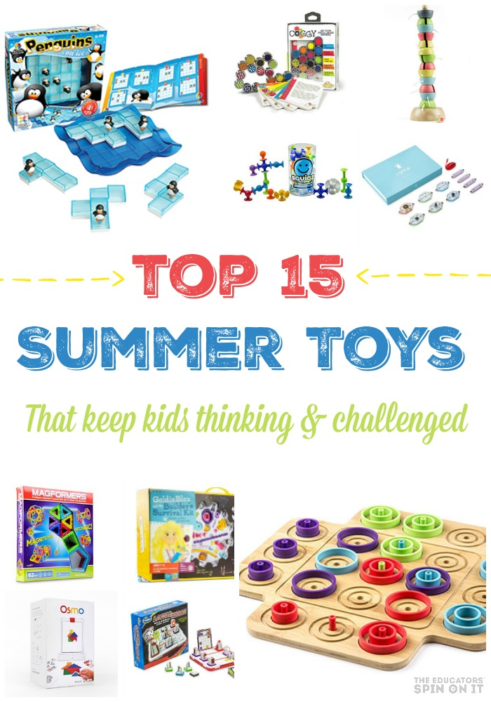 Summer Toys for Kids to Keep Them Challenged and Entertained