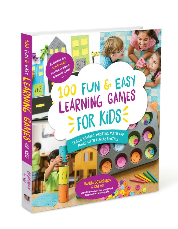 Book: 100 Fun and Easy Learning Games for Kids