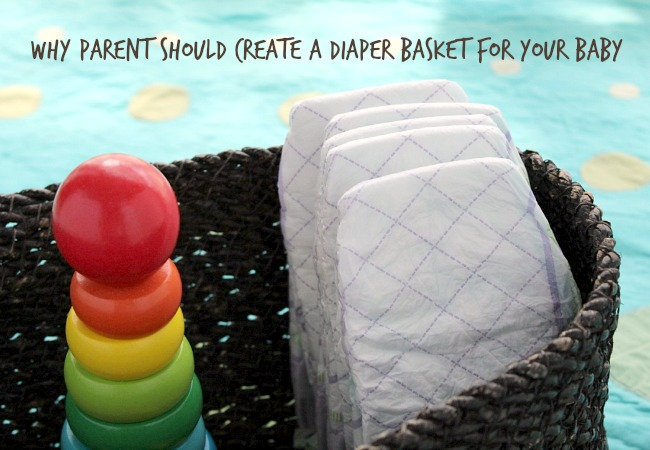 Creating a Diaper Basket for your Baby