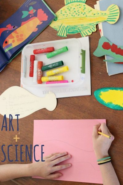 Open Ended Fish Art and Science Project for Creative Kids to Make and Do