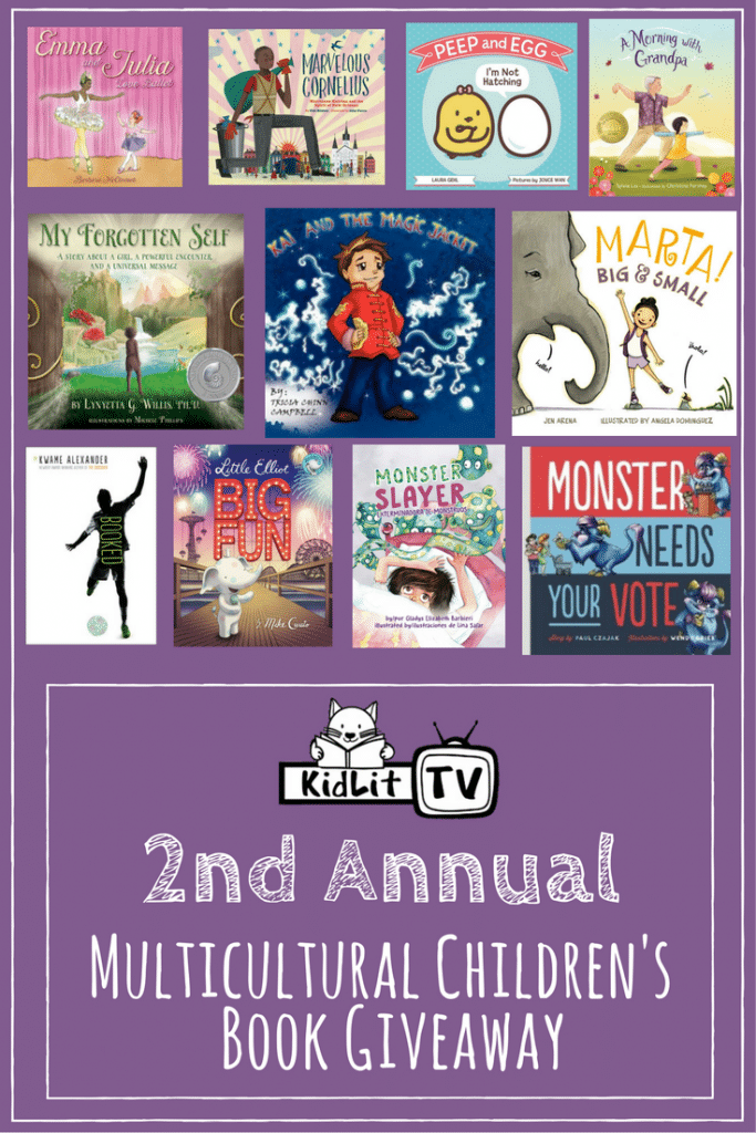 Multicultural Children's Book Giveaway with KIDLIT TV