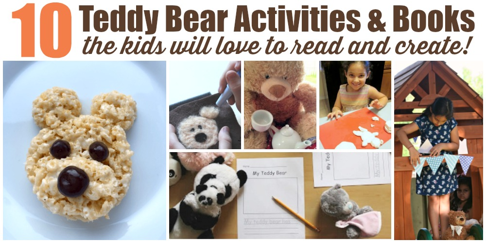Teddy Bear Activities and Books for Kids
