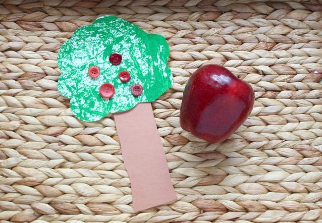 Apple Tree Craft Idea for Kids