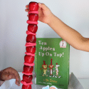 Stacking Apples Game: A Fall STEM Activity for Kids