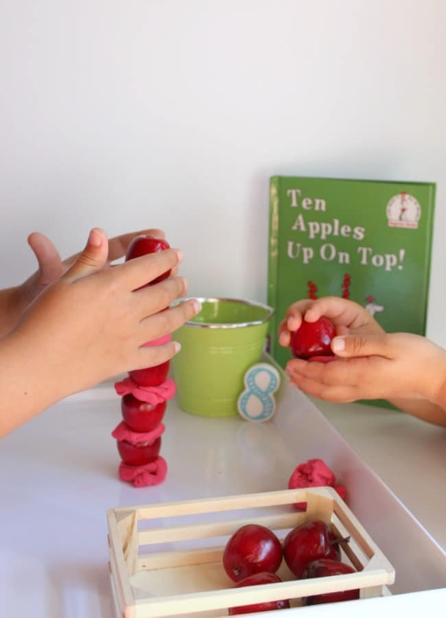 Sibling Apples STEM Game for Kids