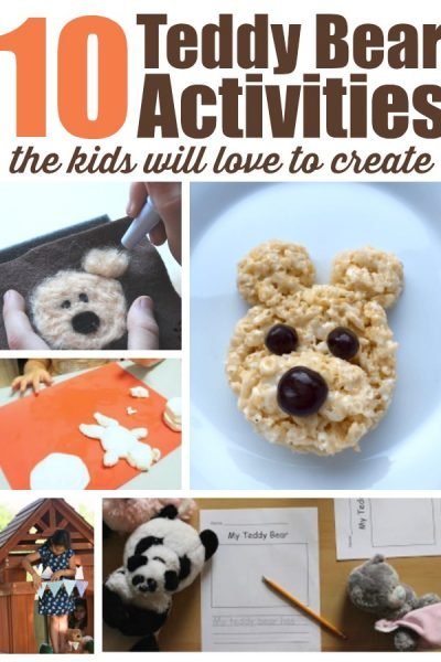 Teddy Bear Activities for Kids