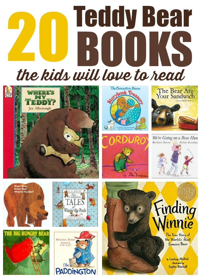Teddy Bear Books for Kids