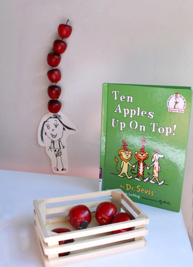 Ten Apple Up On To Magnetic Apple Math Game